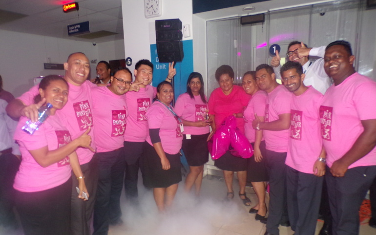 FIB Raises Funds for Fiji Cancer Society